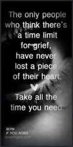 time for grief